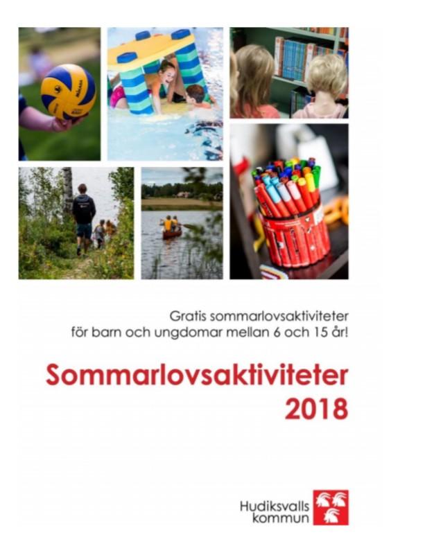 Sommarlovsaktiviteter 2018